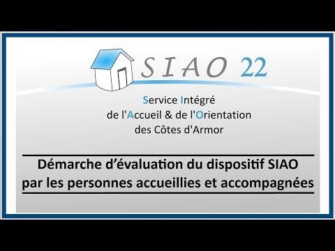 SIAO 22 Propositions d'amélioration de l'accueil - Participation des personnes accueillies 2016