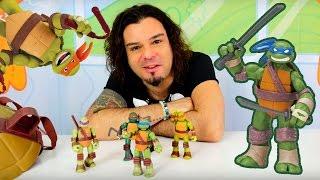 çizgi film oyuncakları Ninja Kaplumbağalar ile oyun. #Türkçeizle! Erkek çocuk oyunları/videoları