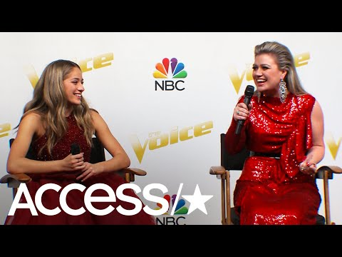 Brynn Cartelli Talks About Her Voice Journey With Coach Kelly Clarkson  Access