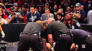 Randy Orton is stretchered out: WWE Network Exclusive, Nov. 3, 2014
