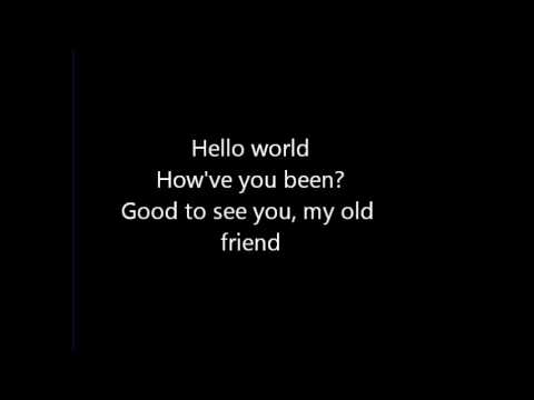 Hello World (Lady Antebellum) lyrics