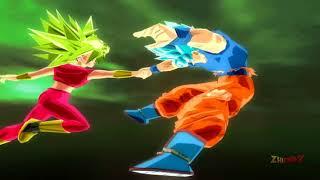 Goku Migatte no Gokui vs Kefla (Kefura) SSJ2 | Dragon Ball Z Budokai Tenkaichi 3