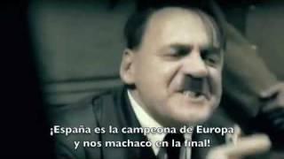 HITLER SE ENTERA DEL ESPAÑA - ALEMANIA EN LA SEMIFINAL DEL MUNDIAL 2010 (EL ORIGINAL)