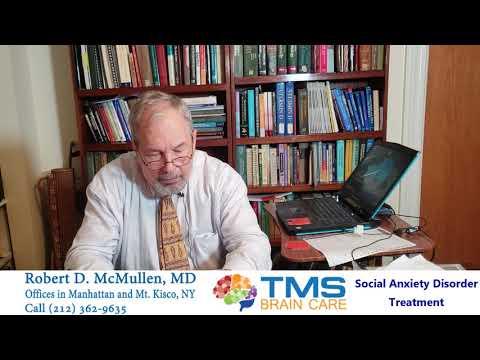TMS Treatment 4 Social Anxiety Disorder / Social Phobia