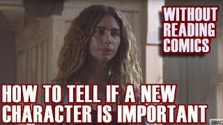New Characters EXPLAINED | How To Tell If A New Character is Important | The Walking Dead Season 9