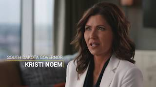South dakota governor kristi noem knows the power of work. growing up on a farm—and later running operation—taught her value job and importa...