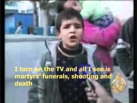 A Child from Gaza sends a message to the world- English Subtitled