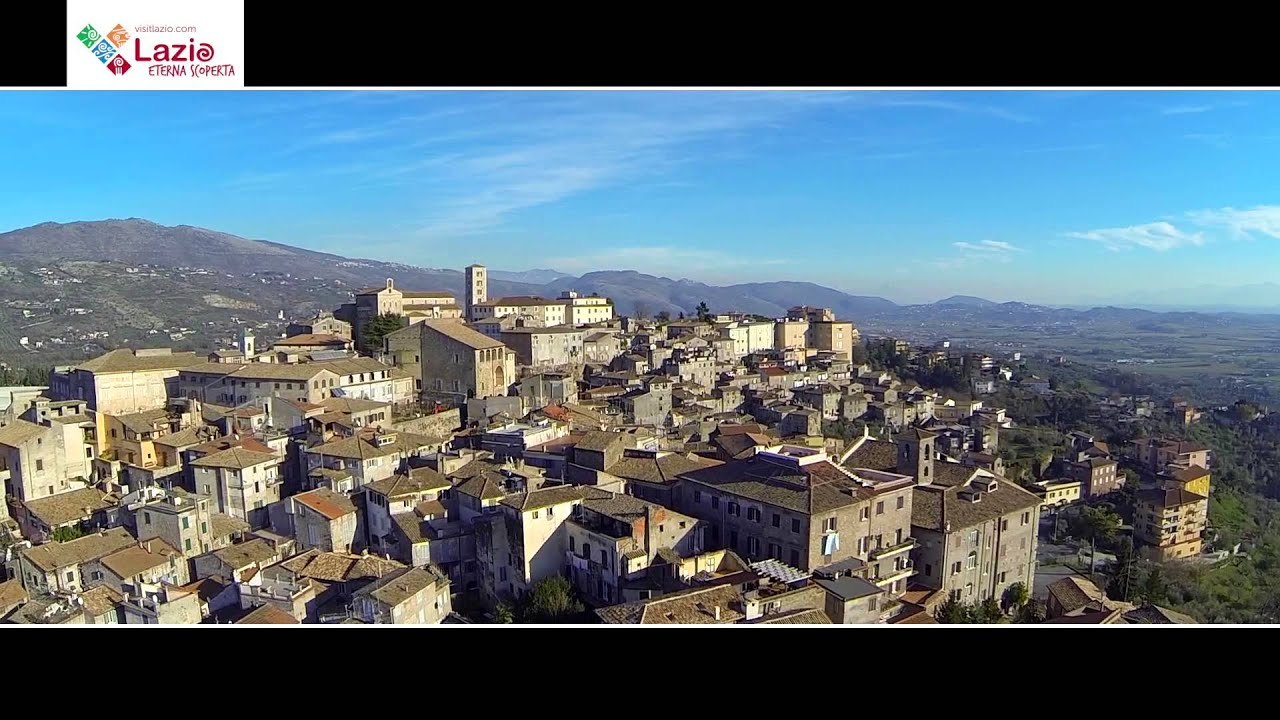 ANAGNI visto dal Drone  YouTube
