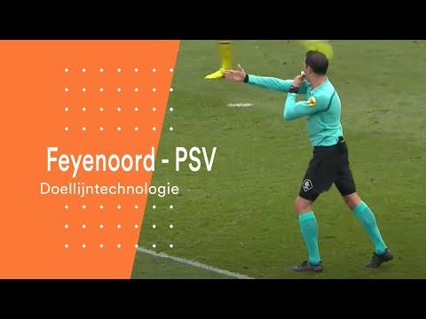 Doellijntechnologie bewijst nut tijdens Feyenoord - PSV
