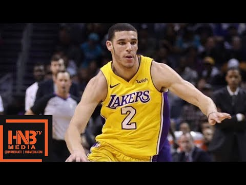 Los Angeles Lakers vs Charlotte Hornets 1st Half Highlights / Week 8 / Dec 9