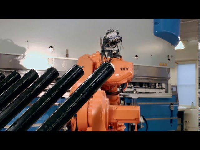 Press Brake Tending - RSP Swivel Tool Changer