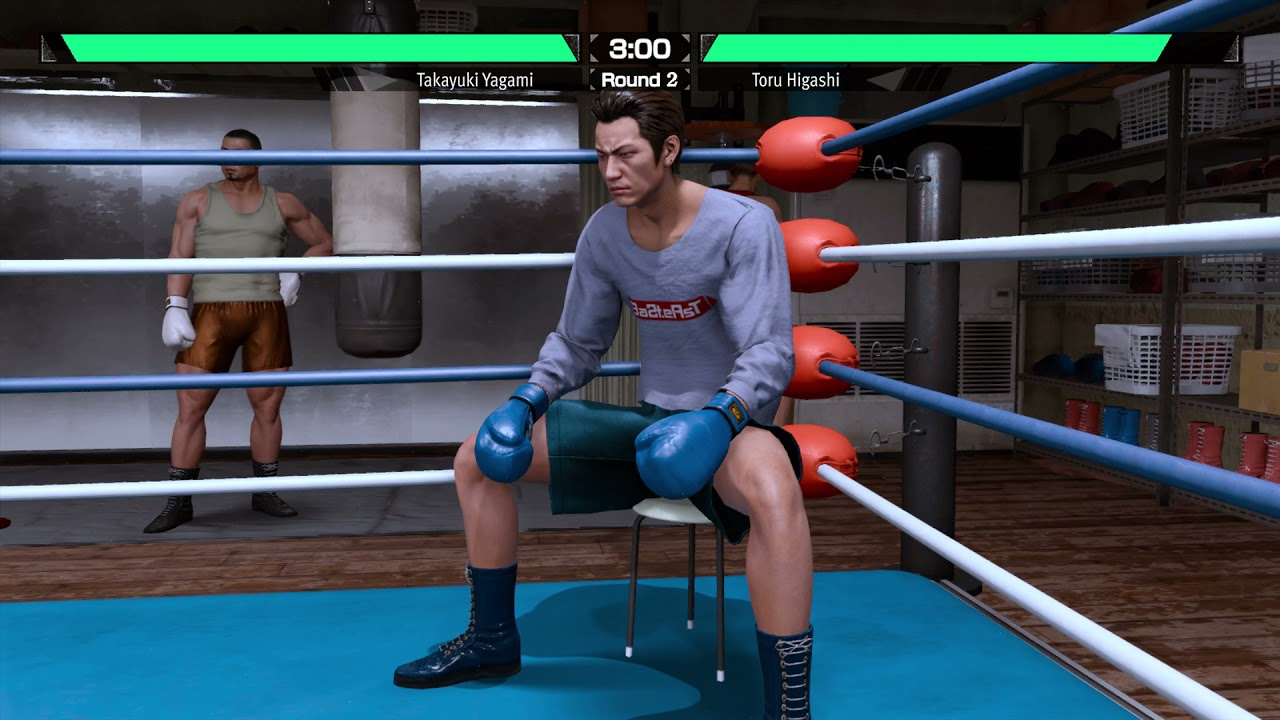 Lost Judgment - Boxing With Higashi :)