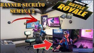 Secret Banner Week 2 Fortnite season 7, loading screen completing challenges of the week