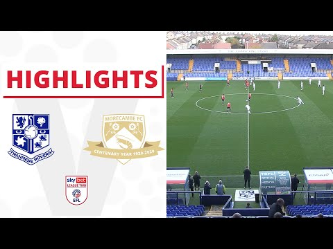 Tranmere Morecambe Goals And Highlights