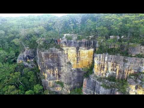 Above Fitzroy Falls