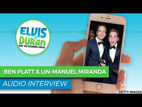 Ben Platt & Lin-Manuel Miranda on 'Hamildrops' Collaboration  —