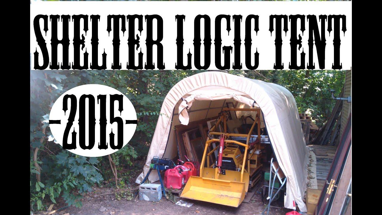 Shelter Logic Tent Timelapse Setup & Shelter Logic Tent Timelapse Setup - YouTube
