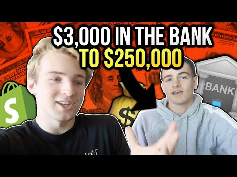 Took Him From $3,000 In His Bank To $250,000 On Shopify In 4 Months (Success Story)