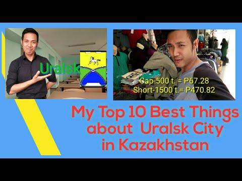 Top 10 Best Things  about Uralsk in Kazakhstan
