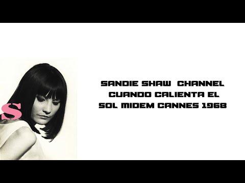 Sandie Shaw   Cuando Calienta El Sol Midem Cannes 1968