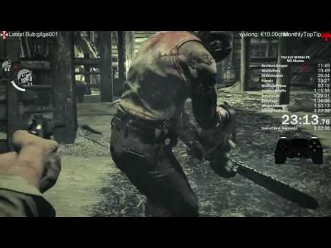 The Evil Within Akumu Speedrun Fail Compilation