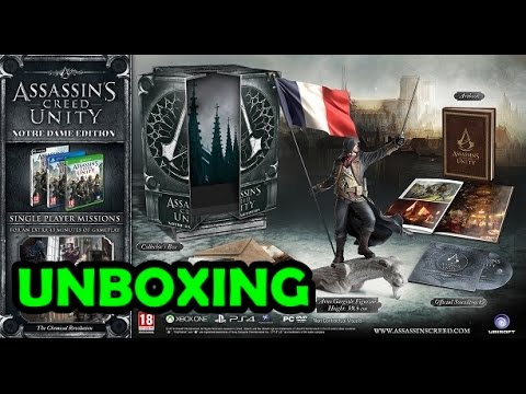 Unboxing Assassin's Creed Unity Notre Dame Edition [German ...