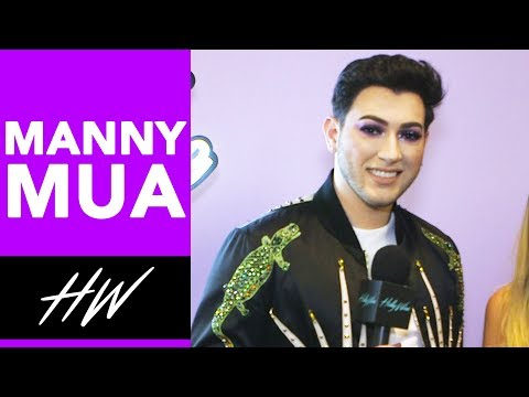 MANNY GUTIERREZ Teases Vlog Channel at VIDCON !! | Hollywire thumbnail