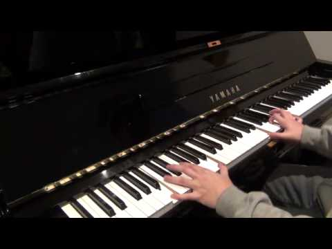 Coldplay - Glass Of Water improved version (piano cover)