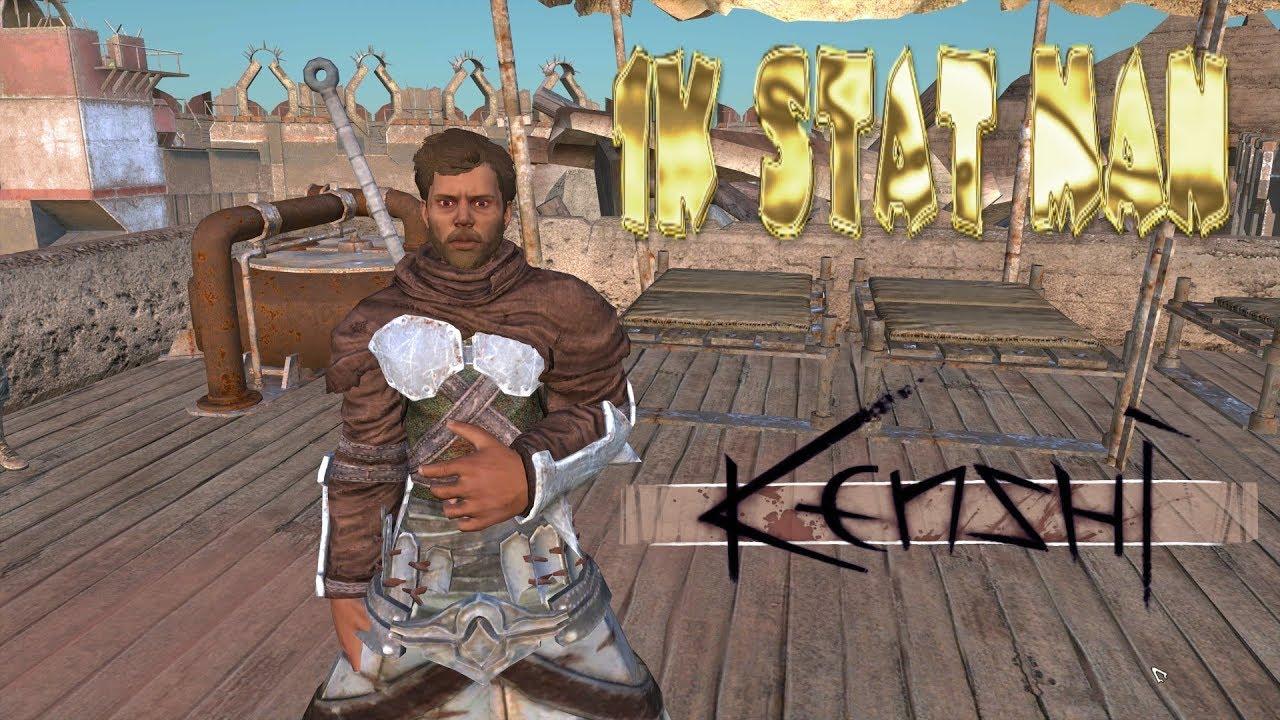 Kenshi - 100 Stat Man