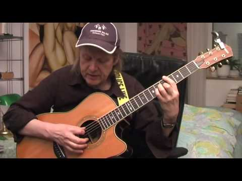 While My Guitar Gently Weeps Guitar Lesson By Siggi Mertens Youtube