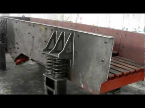 Vibrating Feeder Test Operation-Shanghai Lipu Heavy Industry Co.,Ltd.