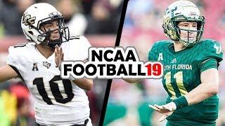 UCF @ USF - 11-24-18 NCAA Football 19 Week 13 Simulation