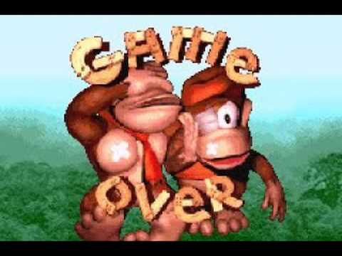 Donkey Kong Country Game Over Screen (GBA Version) - YouTube