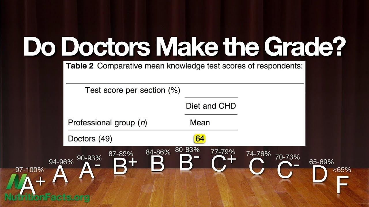 Do doctors make the grade?