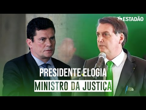 Bolsonaro celebra Moro