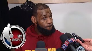 LeBron says Cavs are in a funk after blowout loss to Raptors | ESPN