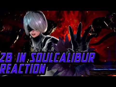 2B IS IN THE STAGE OF HISTORY: SOULCALIBUR 6 2B ANNOUNCEMENT REACTION VIDEO - 동영상