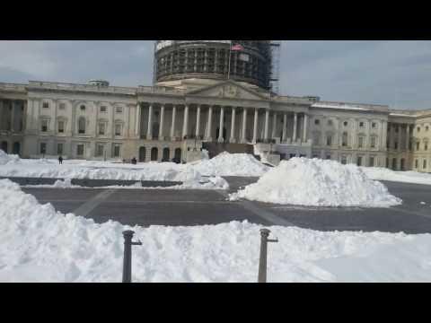 wash. dc capital snowstorm 2016