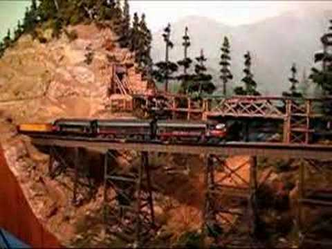 Bob runs a train on the Sunset Valley