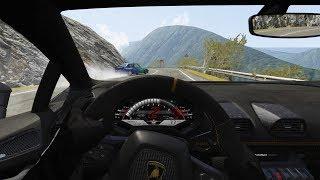 Subiendo Transfagarasan Con Lamborghini Huracán En Real Traffic | ASSETTO CORSA