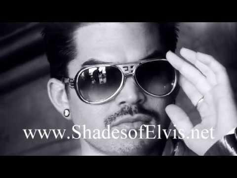 Adam Lambert Wearing Elvis Presleys Real Sunglasses