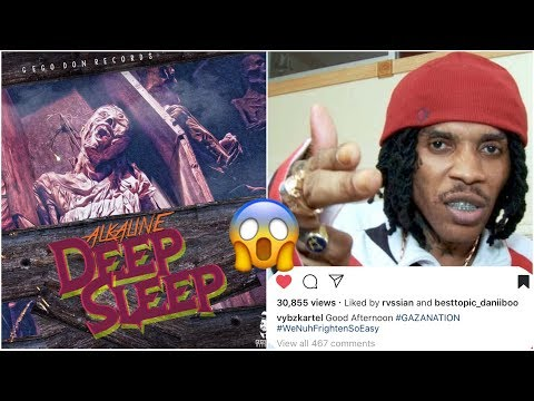 Vybz Kartel Reacts To Alkaline Deep Sleep Diss Song