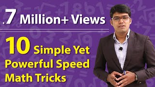 10 Simple Yet Powerful Speed Math Tricks to score more in Bank/SSC/Railway Exams | TalentSprint