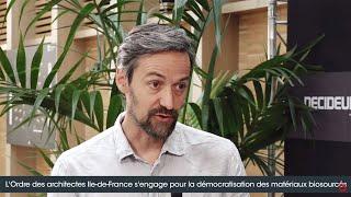 Séquences Bois Studio #6 Le CROAIF s'engage pour la démocratisation des matériaux biosourcés