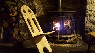 How to make a Celtic Chair out of FREE 2x4 timber