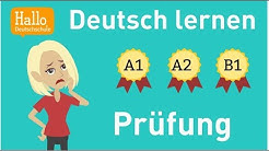 Deutschprüfung / Welches Niveau hast du? Wie gut kannst du Deutsch? A1, A2 oder B1? Einstufungstest