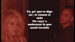 Shakira feat. Maluma - Chantaje (Lyrics)