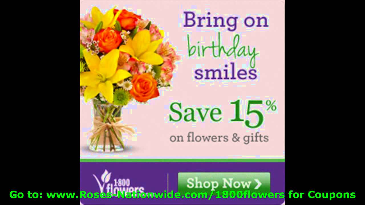 1800 flowers coupon codes