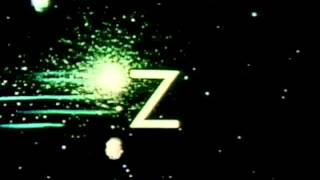 Classic Sesame Street animation - Z in space