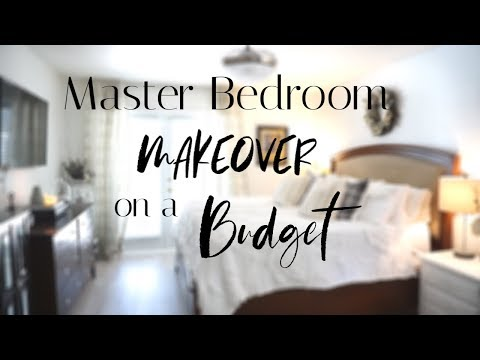 TIPS To Decorate Your Bedroom On a BUDGET| Master Bedroom MAKEOVER with SHIPLAP
